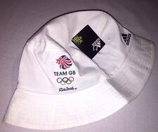Official RIO 2016 Olympic TEAM GB Bucket Hat Unisex Adidas Athlete Issue BNWT