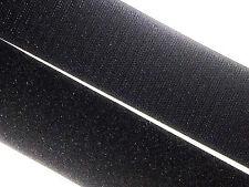 """5m x 50mm HOOK & LOOP Black Sew On Touch Tape - 2"""" Craft Fastener tent caravan"""