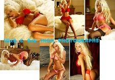 Brooke Banks - 10x8 & 8x6 inch Photo's #m01 in Skimpy Lingerie & Bikini's
