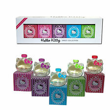 Damen Kinder Eau de Toilette Parfüms Parfum Duft Düfte Hello Kitty 5x 5 ml Sweet