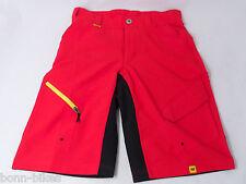 Mavic Crossmax Short Set Rojo Para Hombres talla.xs NUEVO #K61