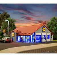 VOLLMER 43662 1/87 MAQUETTE HO KIT MAQUETTE SUPERMARCHE LIDL MAGASIN H0