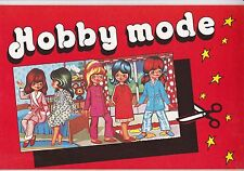 "RARO ALBUM ""HOBBY MODE"" NUOVO ""DA EDICOLA"" - FIGURINE LAMPO - BARBIE  - 1981"