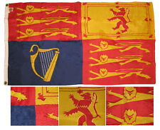 3x5 Embroidered UK United Kingdom Royal Standard 210D-S Nylon Flag 3'x5' (RUF)