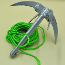 Rock Climbing Claw With Rope Folding Boats Anchor Grappling Hook Survival Tool