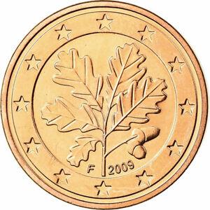 [#699859] République fédérale allemande, 5 Euro Cent, 2009, SPL, Copper Plated S