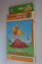 LeapFrog Tag Junior Book: Pooh Loves To (works with LeapReader Junior), New
