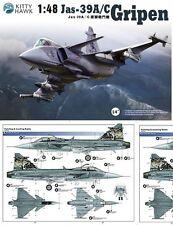 Kitty Hawk  1/48  Hawk JAS-39A/C Gripen  #80117 *New*