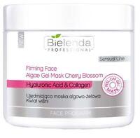 Bielenda Professional Firming Face Algae Mask Cherry Hyaluronic Collagen 200g