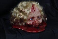 Acid Head Female Zombie - Halloween Prop & Decoration The Walking Dead Corpse