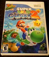 Super Mario Galaxy 2 (Nintendo Wii, 2010) New Sealed