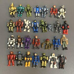 Random 10 No Repect Mega Bloks Construx Halo UNSC SPARTAN MASTER CHIEF Figures
