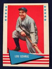 1961 FLEER LOU GEHRIG #31 New York Yankees