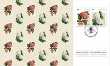 CANADA 2016 HYDRANGEAS FLOWERS FIRST DAY COVER
