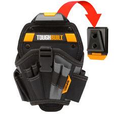 ToughBuilt Tools Work Drill Holster Large Belt Clips Black Pocket Pouch Holder