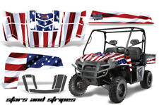 UTV Decal Graphics Kit Wrap For Polaris Ranger XP 500/700 2009-2014 USA FLAG