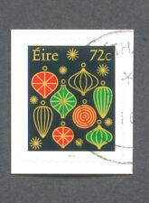 Ireland Christmas 2016 fine used cto single value ex booklet
