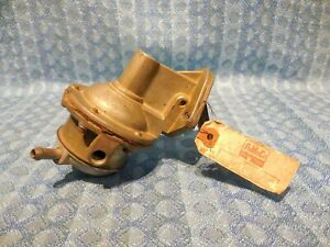 1962 Ford Falcon & Mercury Comet 6 Cyl NORS Fuel Pump # 6491 (See Detailed Ad)