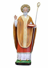 Saint Nicholas of Bari resin statue cm. 42