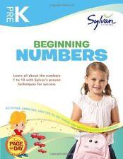 Pre-K Beginning Numbers - Sylvan Learning - NEW - PAPERBACK 2012