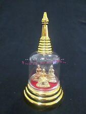 1 Storage Box Mini Buddha image  Pagoda Clear Acrylic Gorgeous&Dust Well # 001