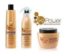 Kit Ricostruzione Capelli KI-Power - Shampoo + Lozione + Maschera - EchosLine