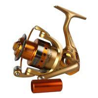 Saltwater Spinning Fishing Reel 1000-5000 Series Metal Spool Carp Fishing Reels