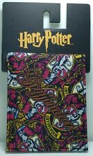 NEW!! Bioworld Multi Color Harry Potter Gryffindor Wallet Billfold Id Window