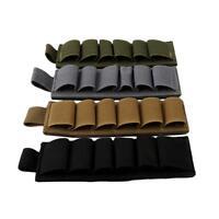 Tactical Army Buttstock Cheek Bags Rest 6 Shots Gauge Shotgun Shell Holder LI