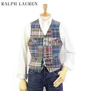Polo Ralph Lauren Patchwork Suit Vest - Multicolor -
