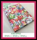 FOR APPLE IPAD 4 , 3 OR 2 COVER/CASE SHOPKINS PINK DESIGN