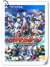 PSV PlayStation VITA SUPER HERO GENERATION Bandai Namco Games Strategy