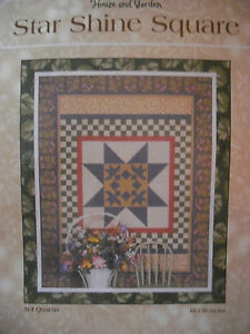 """Thimbleberries Star Shine Quilt Fabric Kit 64"""" x 80"""" backing included  12 3/8 y"""