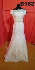 Brautkleid Gelinlik Hochzeitskleid Größe 38 Weiss B162