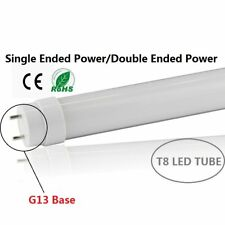 4ft LED T8 Replacement Tubes Fluorescent Light 10Pack Frosted Lens Shop Lighting