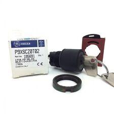 Interruptor Selector clave 195691 Ge 3 posiciones Negro P9XSCZ0T02