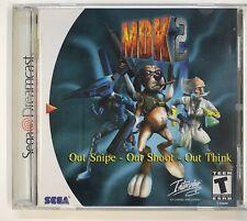 MDK 2 DC Dreamcast USA