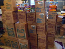 HUGE LOT OF VINTAGE UNOPENED BASEBALL CARD PACKS! 100 CARD LOTS PLUS BONUSES