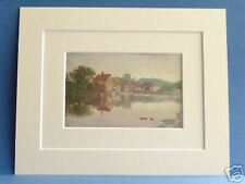 CHALFONT ST GILES BUCKS 1920 VINTAGE DOUBLE MOUNTED PRINT 10X8  SUTTON PALMER