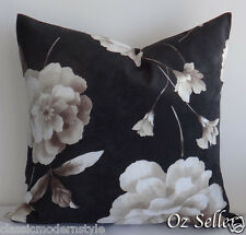 55cm High Quality Large Durable Thick fabric Cushion Cover Dark Chocolate