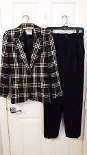 Givenchy Checked Pant Suit - Size 38/6