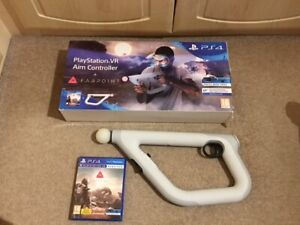 Sony PlayStation 4 VR Aim Controller - White + Farpoint Game