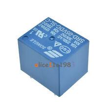 10pcs Mini Power Relay 5V DC SRD-5VDC-SL-C SRD-5VDC-SL-C PCB