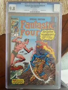 Fantastic Four: Special Edition #1 (May 1984, Marvel) CGC 9.8 (Sub-Mariner)