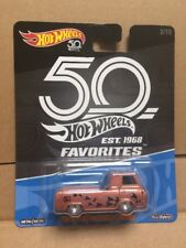 HOT WHEELS DIECAST - Real Riders 50th Anniversary -  '60's Ford Econoline Pickup