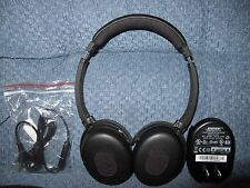 Bose Quiet Comfort 3 QC-3 Noise Cancelling Headphones New Earpads+New Mic Cable