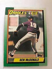 1990 Topps Ben Mcdonald Baltimore Orioles #774