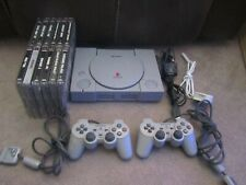 Sony Playstation One Console- SCPH-7502, 2 x Sony Controller,12 x Games