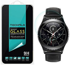 TechFilm® Tempered Glass Screen Protector Saver For Samsung Gear S2 Classic