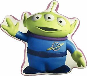 """OFFICIAL BRAND NEW 12"""" TOY STORY 4 ALIEN SHAPED CUSHION PILLOW"""